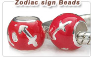 European zodiac signs beads
