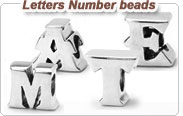 Number and Letter beads